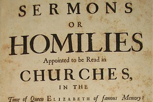 When is a sermon not a sermon?